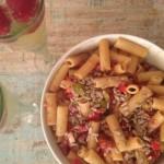Serendipity - veganer Pasta-Salat
